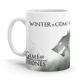 Snow And The Ghost - Game Of Thrones Official Mug