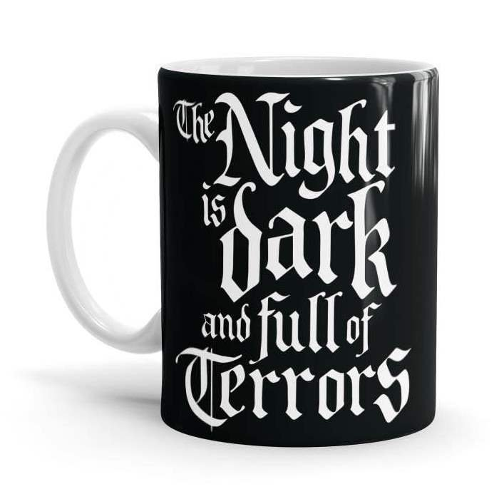 The Night Is Dark And Full Of Terrors - Game Of Thrones Official Mug