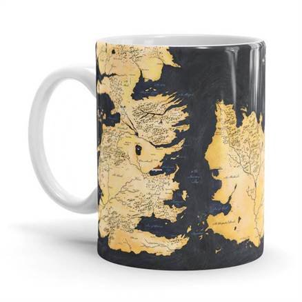 Westeros - Game Of Thrones Official Mug