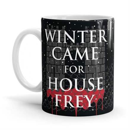 Winter Came For House Frey - Game Of Thrones Official Mug