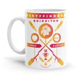 Gryffindor Team Captain - Harry Potter Official Mug