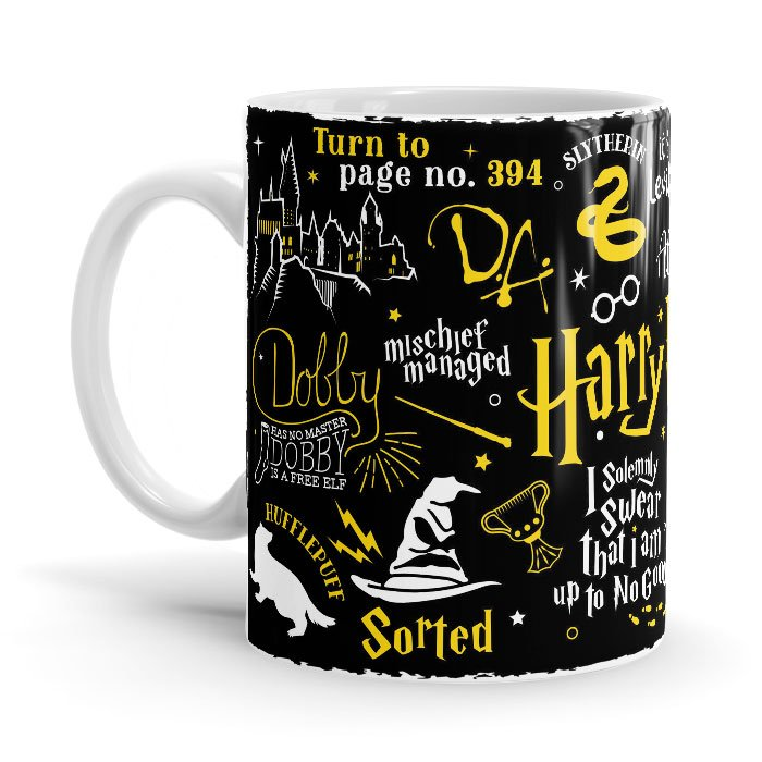 Harry Potter Infographic - Harry Potter Official Mug