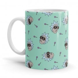 Heist Champ Pattern - Rick And Morty Official Mug
