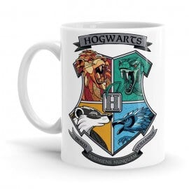 Hogwarts House Charms - Harry Potter Official Mug