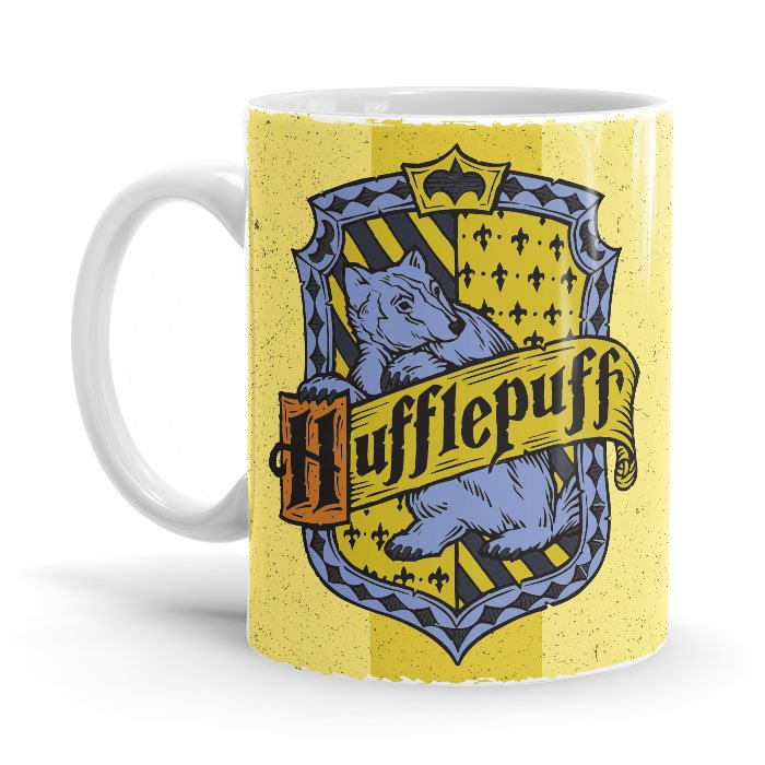 Hufflepuff Crest - Harry Potter Official Mug