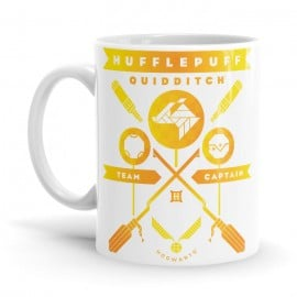 Hufflepuff Team Captain - Harry Potter Official Mug