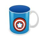 Captain America Logo - Kawaii Art - Official Captain America Coffee Mug