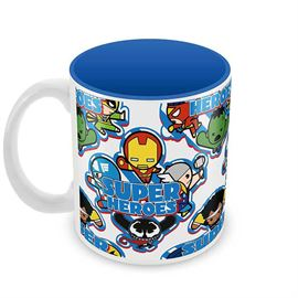 Superheroes - Kawaii Art - Official Avengers Coffee Mug
