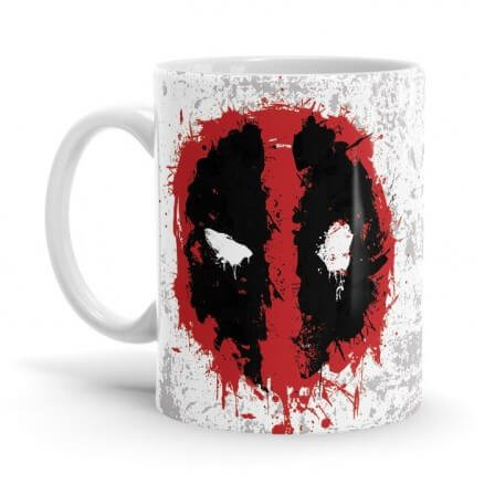 Deadpool: Logo Splatter - Marvel Official Mug