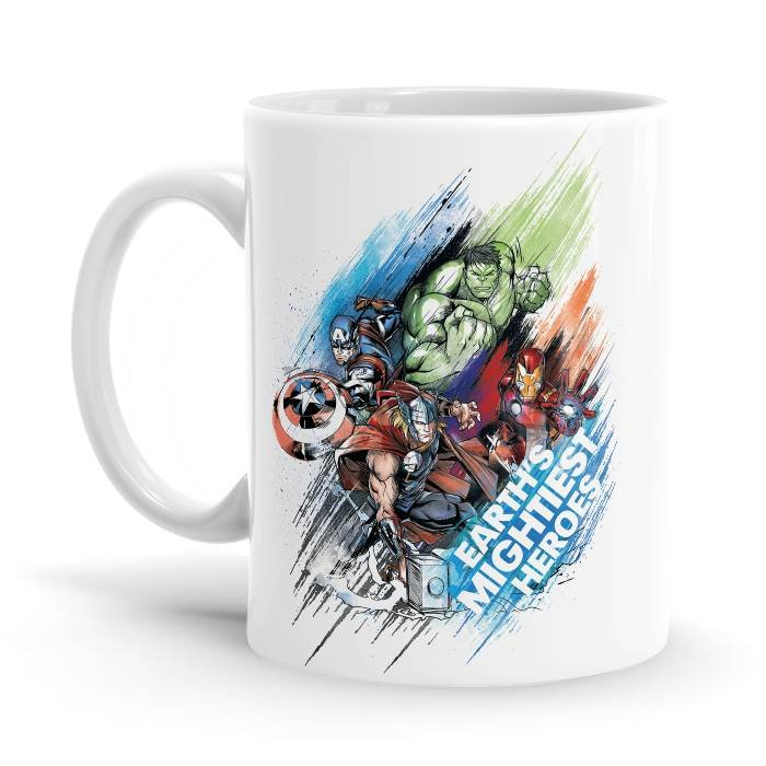 Earth's Mightiest Heroes - Marvel Official Mug
