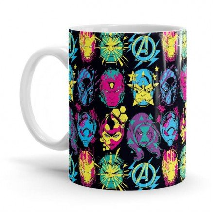 Pop Pattern - Marvel Official Mug
