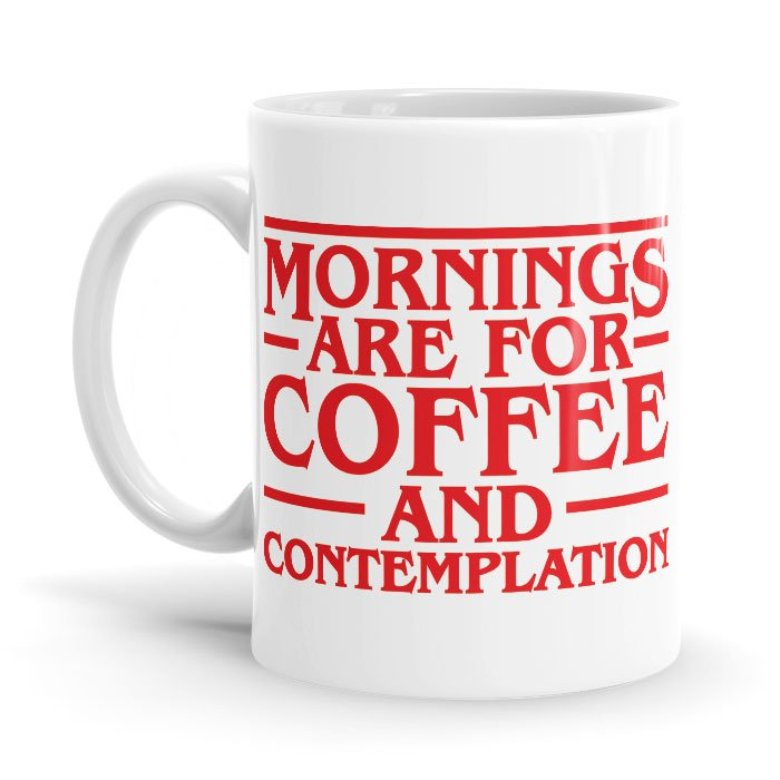Strange Contemplations - Coffee Mug