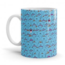 Mr. Meeseeks Pattern - Rick And Morty Official Mug