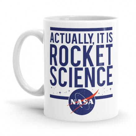 Rocket Science - NASA Official Mug