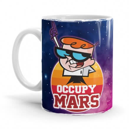 Occupy Mars - Dexter Official Mug
