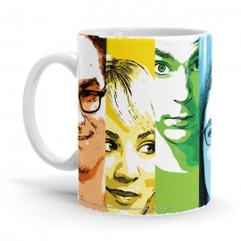 Pop Stripes - The Big Bang Theory Official Mug