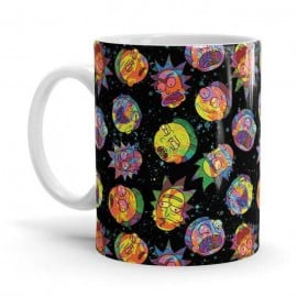 Spaced Out - Rick And Morty Official Mug