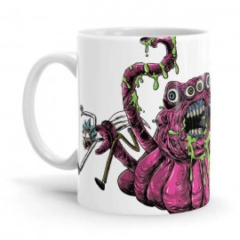 Four Eyed Monster - Rick And Morty Official Mug