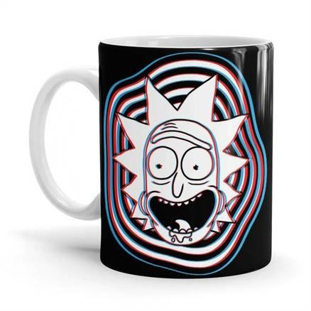 Glitch - Rick And Morty Official Mug