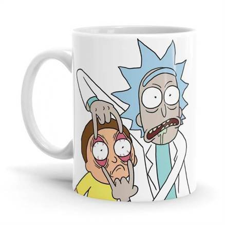Look Morty - Rick And Morty Official Mug
