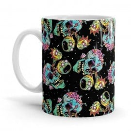 Monster Pattern - Rick And Morty Official Mug