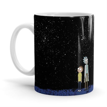 Night Sky - Rick And Morty Official Mug