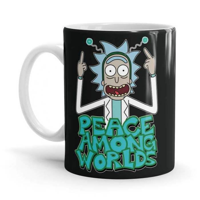 Peace Among Worlds - Rick And Morty Official Mug