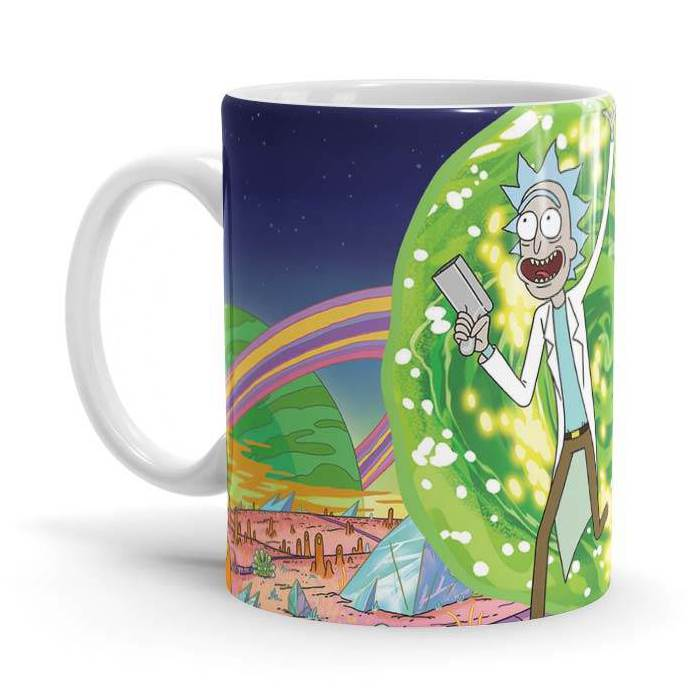 Ricksy Business - Rick And Morty Official Mug