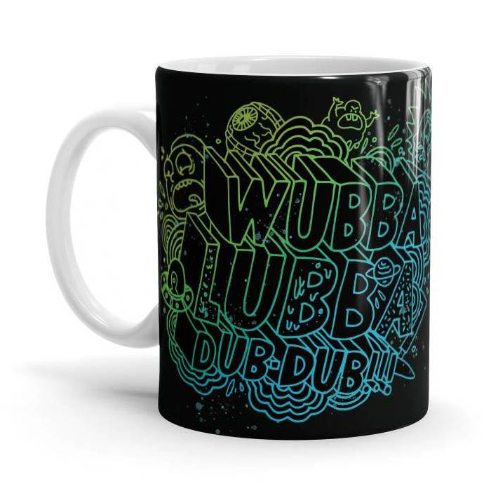 Wubba Lubba Dub Dub - Rick And Morty Official Mug