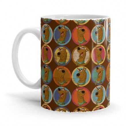 Scooby Retro Pattern - Scooby Doo Official Mug
