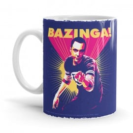 Sheldon: Bazinga! - The Big Bang Theory Official Mug