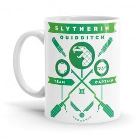 Slytherin Team Captain - Harry Potter Official Mug