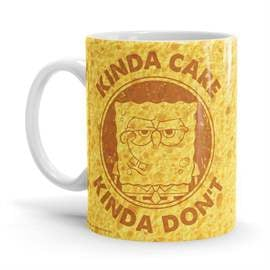 Kinda Care, Kinda Don't - SpongeBob SquarePants Official Mug