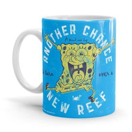Turn Over A New Reef - SpongeBob SquarePants Official Mug
