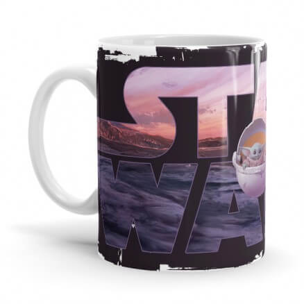 The Child: Star Wars Logo - The Mandalorian Official Mug