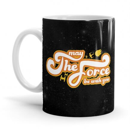 May The Force Be With You - Star Wars Official Mug