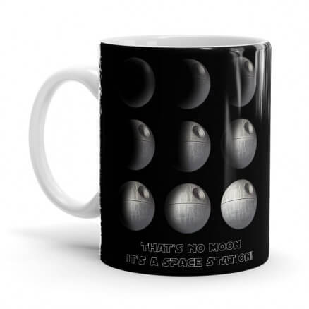 Phases Of Death Star - Star Wars Official Mug