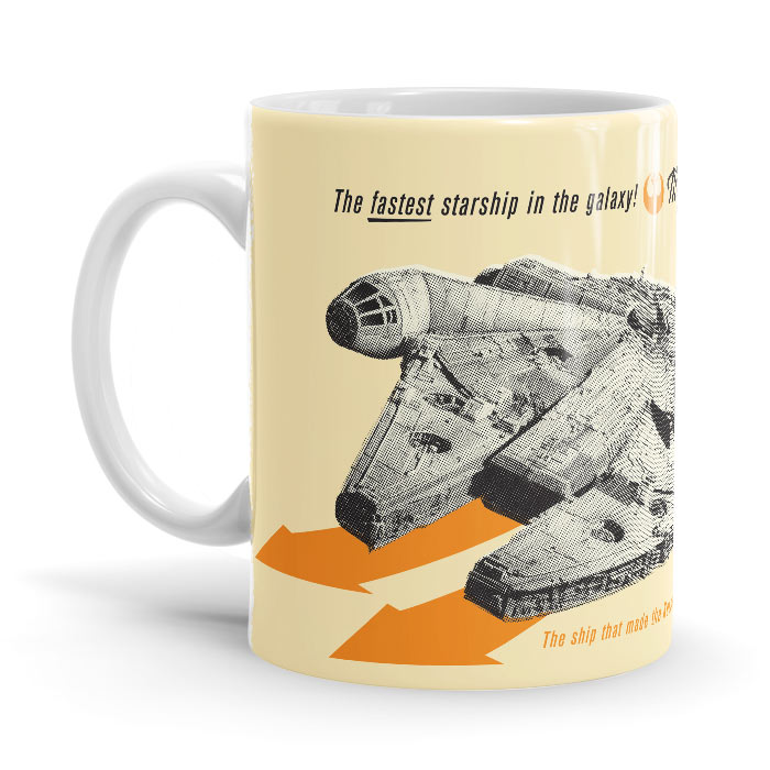 Retro Falcon - Star Wars Official Mug