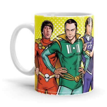 Superhero Gang - The Big Bang Theory Official Mug