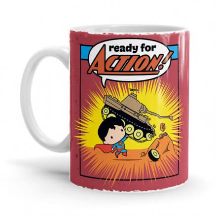 Ready Of Action - Superman Official Mug