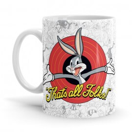 That's All Folks - Bugs Bunny Official Mug