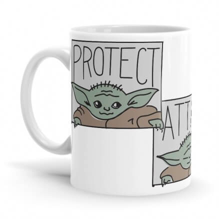 The Child: Protect, Attack, Snack - The Mandalorian Official Mug