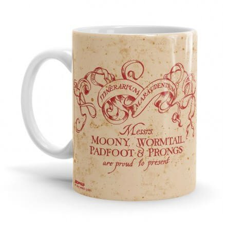 The Marauder's Map - Harry Potter Official Mug