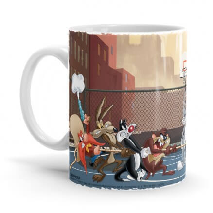 Tug Of Loonies - Looney Tunes Official Mug