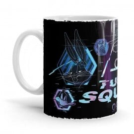 Tune Squad Wireframe - Space Jam Official Mug
