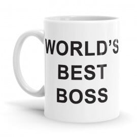 World's Best Boss - Coffee Mug