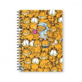 Garfield Pattern - Garfield Official Spiral Notebook