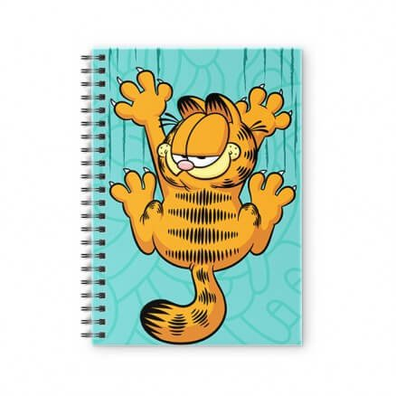 Garfield Scratch - Garfield Official Spiral Notebook