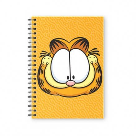 Happy Cat - Garfield Official Spiral Notebook