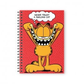Smiling Cat - Garfield Official Spiral Notebook